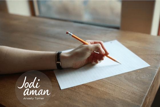 self hate writing to heal