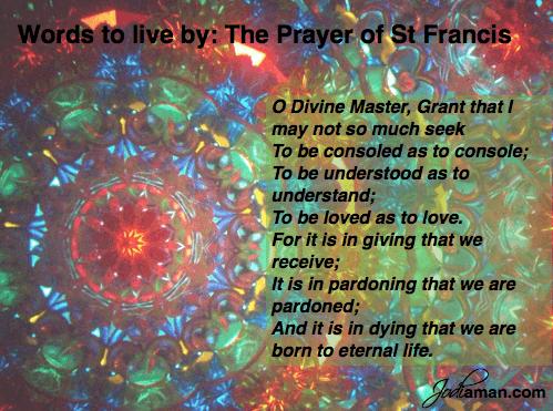 prayer of st francis