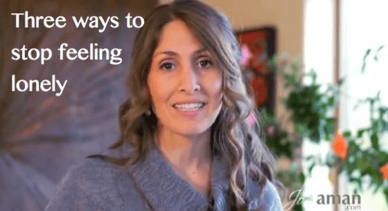 three ways to stop feeling lonely