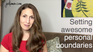 setting awesome personal boundaries