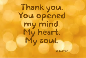 Thank you. You opened my mind.