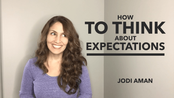 How To Think About Expectations