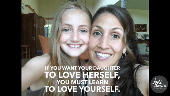 My daughter and her self-esteem