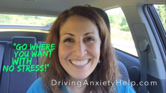 how to get rid of driving anxiety