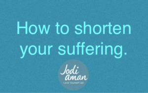 heal trauma shorten suffering