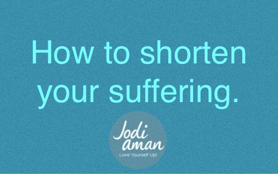 heal trauma shorten suffering