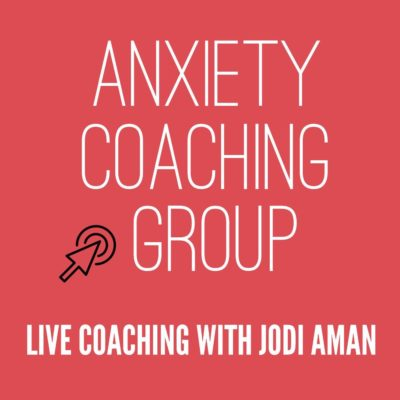 anxiety coaching group