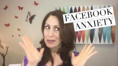 Facebook anxiety