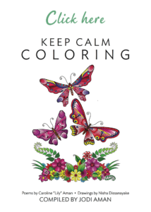 repetition keep calm coloring book