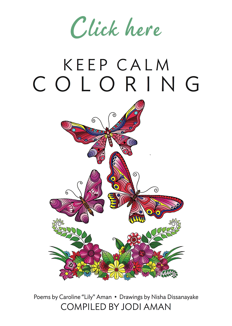 keep calm coloring