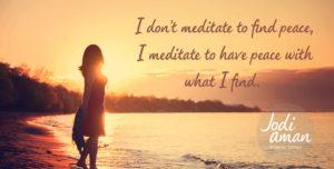 light is all around us meditations