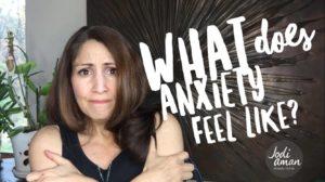 what anxiety feels like