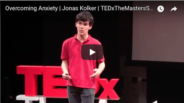 Tedx talks on anxiety