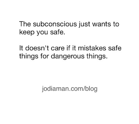 emotional blocks subconcious