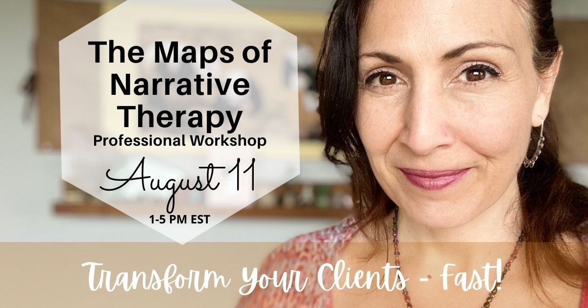maps of narrative therapy